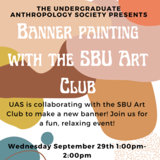 UAS Banner Painting  Poster