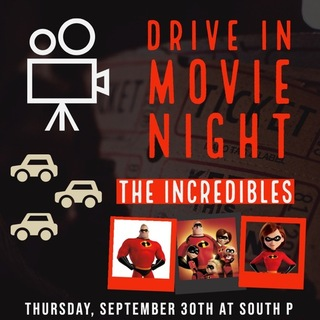 The Incredibles  Drive-In Movie Poster