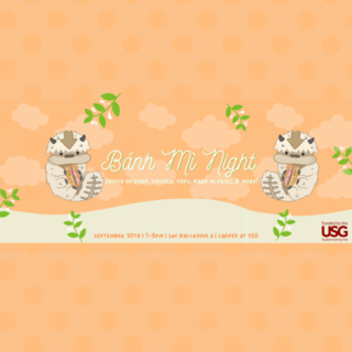 VSA Presents: Banh Mi Night Poster