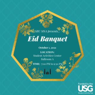MSA Eid Banquet Poster