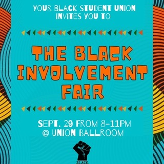 Black Involvement Fair  Poster