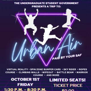 Urban Air Adventure Park Poster