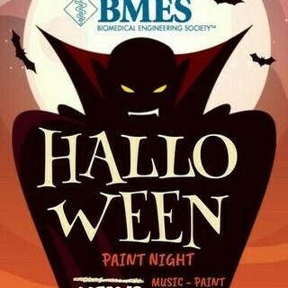Halloween Paint Night Poster