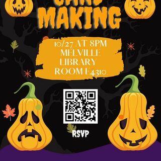 Card Making for Children's Hospital Poster