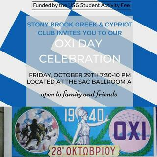 OXI Day Celebration Poster