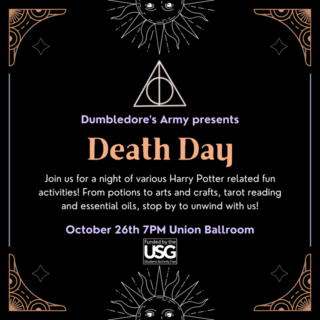 Death Day Party Poster