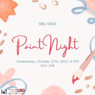 MSA GBM - Paint Night Poster