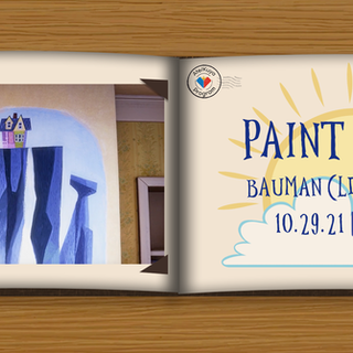 PUSO Presents: Paint and Sip Poster
