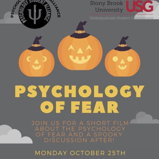 Third GBM: Psychology of Fear Poster