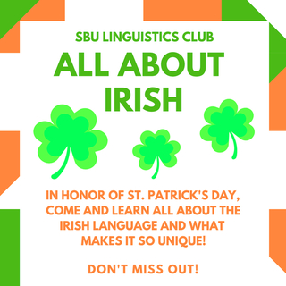 All About Irish! Poster
