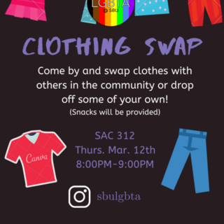 Clothing Swap Poster