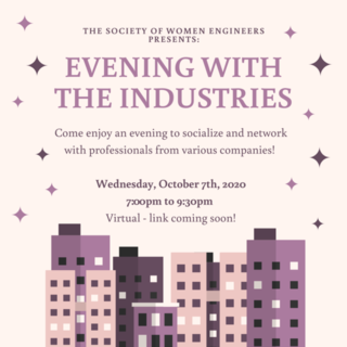 Evening with the Industries Poster