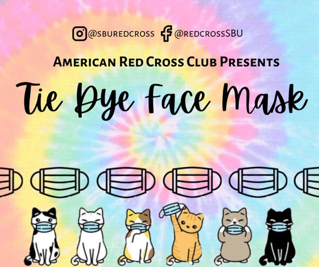 Tie Dye Mask Making Poster