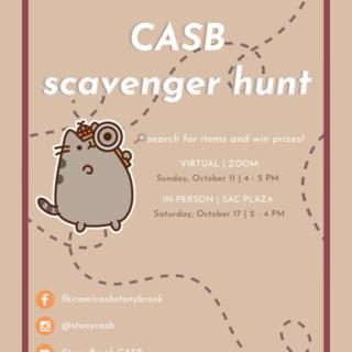 Online Scavenger Hunt Poster