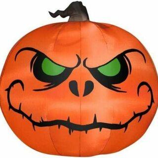 Pumpkin Painting - Spooky Brook Poster