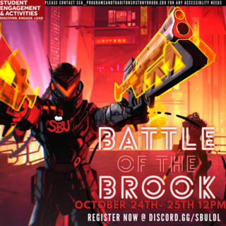 Battle of the Brook Fall 2020 Poster