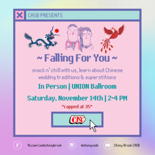 CASB Presents: FALLing for You Poster