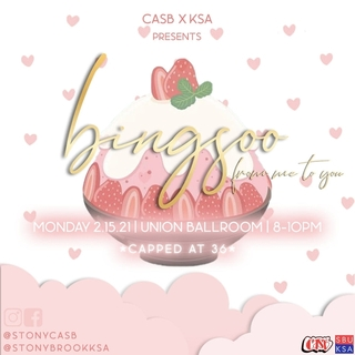 CASB x KSA Presents: Bingsoo From Me to You Poster