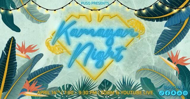 Puso Presents: Kamayan Night Poster