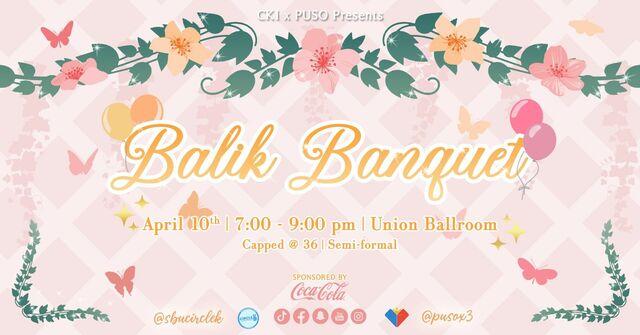 CKI x PUSO Presents: Balik Banquet Poster