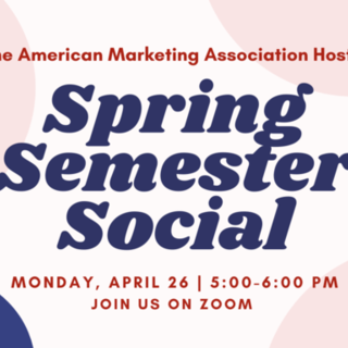 Spring Social Event Poster