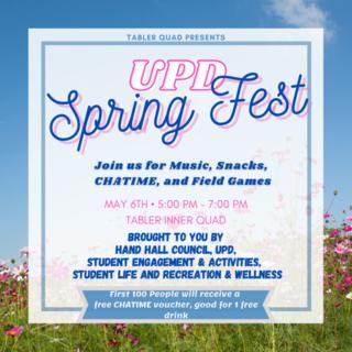 UPD Spring Fest Poster